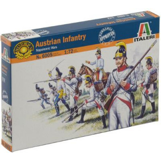 Model Kit figurky 6005 - AUSTRIAN INFANTRY (NAP.WARS) (1:72)