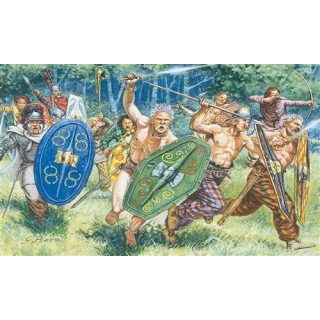 Model Kit figurky 6022 - GAULS WARRIORS (I-II CENTURY B.C.) (1:72)