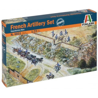Model Kit figurky 6031 - FRENCH ARTILLERY SET (NAP.WARS) (1:72)