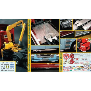 Model Kit truck 3854 - Truck Accessoires Set II (1:24)