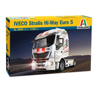 Model Kit truck 3899 - IVECO STRALIS HI-WAY EURO 5 (1:24)