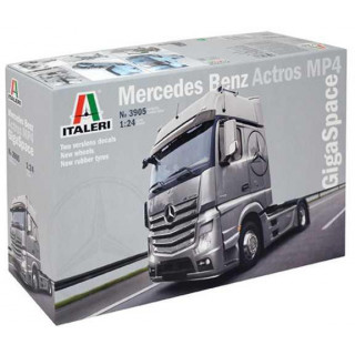 Model Kit truck 3905 - Mercedes Benz Actros MP4 Gigaspace (1:24)