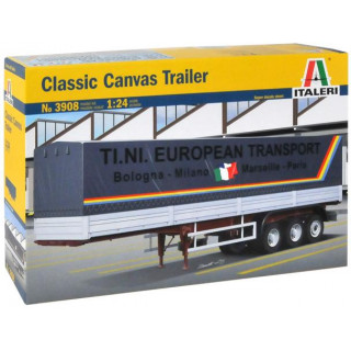 Model Kit návěs 3908 - CANVAS TRAILER (classic) (1:24)