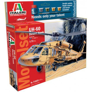 Model Set vrtulník 71025 -  UH 60 Desert Hawk (1:72)