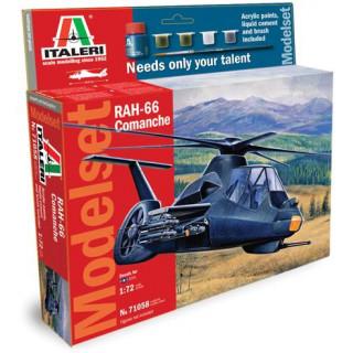 Model Set vrtulník 71058 -  RAH-66 COMANCHE (1:72)
