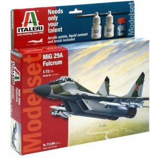 "Model Set letadlo 71184 -  MIG-29A ""FULCRUM"" (1:72)"