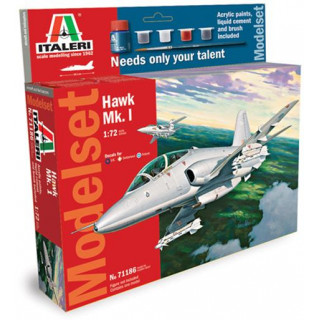 Model Set letadlo 71186 -  HAWK Mk.1 (1:72)