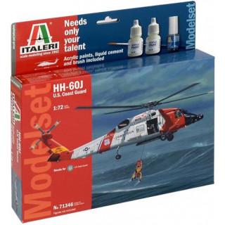 Model Set vrtulník 71346 -  HH-60J COAST GUARD (1:72)