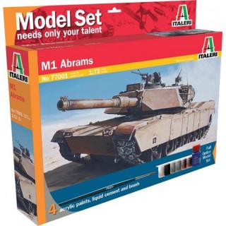 Model Set tank 77001 -  M1 Abrams (1:72)