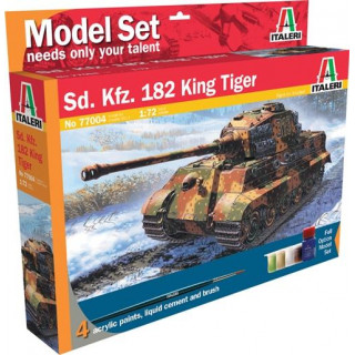 Model Set tank 77004 -  Sd.Kfz. 182 King Tiger (WWII) (1:72)