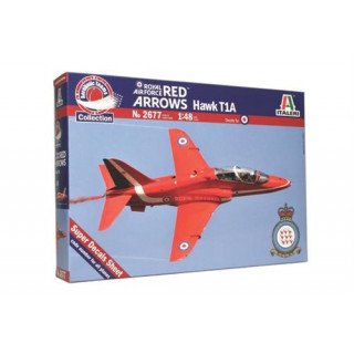 "Model Kit letadlo 2677 - HAWK T1A ""RED ARROWS"" (1:48)"