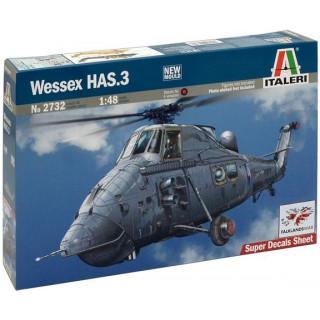Model Kit vrtulník 2732 - WESSEX HAS.3 (1:48)