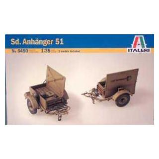 Model Kit military 6450 - SD. ANHANGER (1:35)
