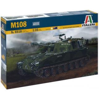 Model Kit military 6518 - M108 (1:35)