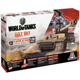 Model Kit World of Tanks 56501 - Pz.Kpfw.VI Tiger (1:56)