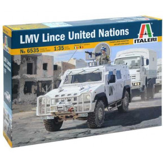 Model Kit military 6535 - LMV LINCE United Nations (1:35)