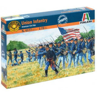 Model Kit figurky 6177 - UNION INFANTRY (AMERICAN CIVIL WAR) (1:72)