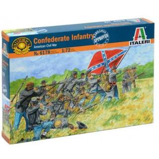 Model Kit figurky 6178 - CONFEDERATE INFANTRY (AMERICAN CIVIL WAR) (1:72)