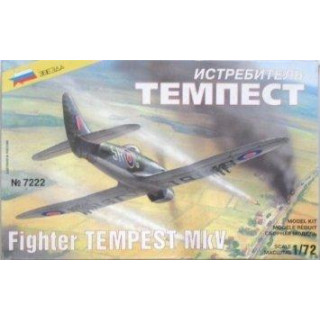 Model Kit letadlo 7222 - Fighter TEMPEST MkV (1:72)