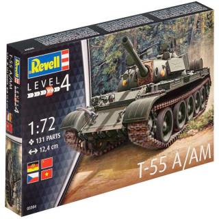 Plastic ModelKit tank 03304 - T-55A/AM (1:72)