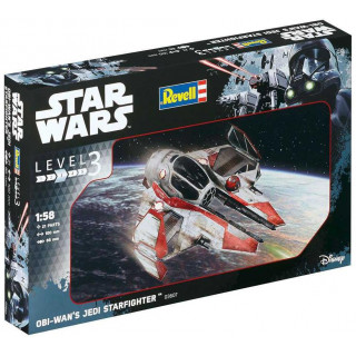 Plastic ModelKit SW 03607 - Obi-Wan´s Jedi Starfighter (1:58)
