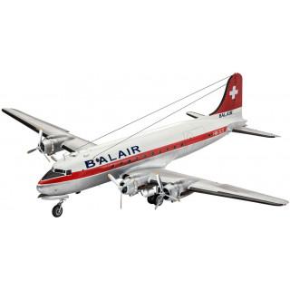 Plastic ModelKit letadlo 04947 - DC-4 Balair/ Iceland Airways (1:72)