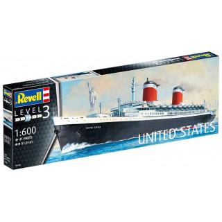 Plastic ModelKit loď 05146 - SS United States (1:600)