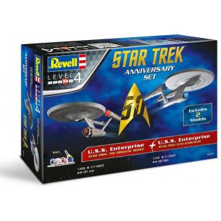 Gift-Set Star Trek 05721 - STAR TREK Anniversary Set (1:500 & 1:600)