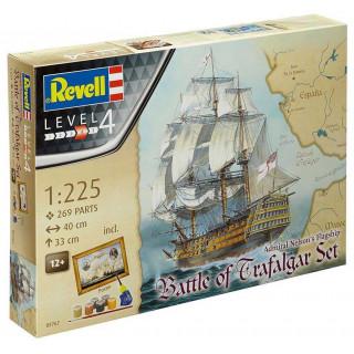"Gift-Set hajó 05767 - ""Battle of Trafalgar"" (1:225)"