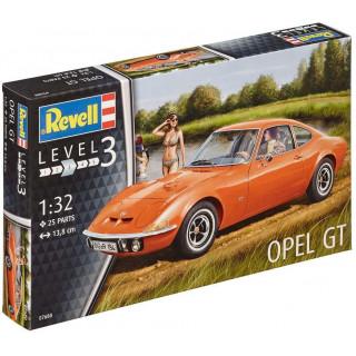 Plastic ModelKit autó 07680 - Opel GT (1:32)