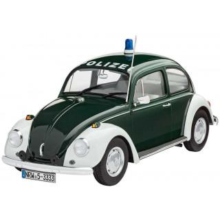 "Plastic ModelKit autó 07035 - VW Beetle ""Police"" (1:24)"