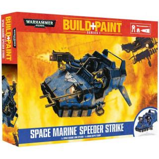 Build + Paint Warhammer 00081 - Space Marine Speeder Strike