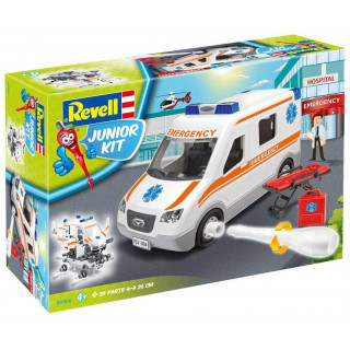 Junior Kit auto 00806 - Ambulance (1:20)