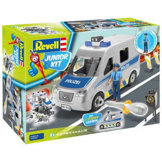 Junior Kit auto 00811 - Police Van  (1:20)