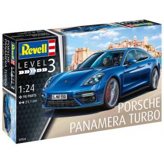 Plastic ModelKit autó 07034 - Porsche Panamera Turbo (1:24)