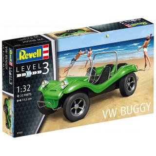 Plastic ModelKit autó 07682 - VW Buggy (1:32)
