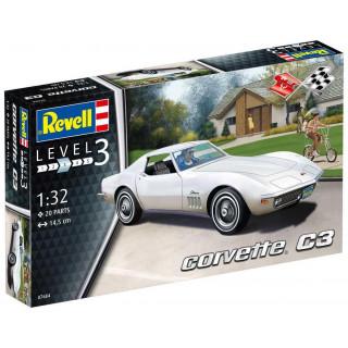 Plastic ModelKit autó 07684 - Corvette C3 (1:32)
