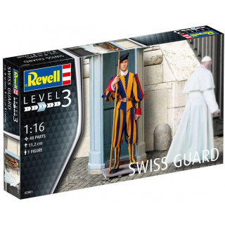 Plastic ModelKit figurka 02801 - Swiss Guard (1:16)