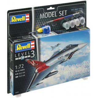 ModelSet letadlo 63952 -  Eurofighter Typhoon (1:72)