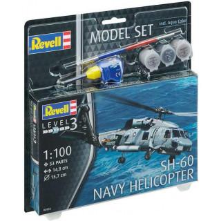 ModelSet vrtulník 64955 -  SH-60 Navy Helicopter (1:100)