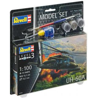 ModelSet vrtulník 64984 -  UH-60A  (1:100)