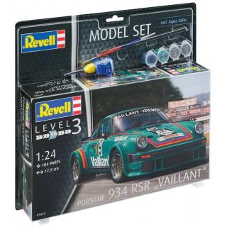 """ModelSet auto 67032 -  Porsche 934 RSR """"Vaillant"""" (1:24)"""