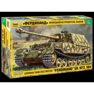 "Model Kit tank 3653 - Sd.Kfz.184 ""Ferdinand"" (1:35)"