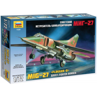 Model Kit letadlo 7228 - MIG-27 (re-release) (1:72)