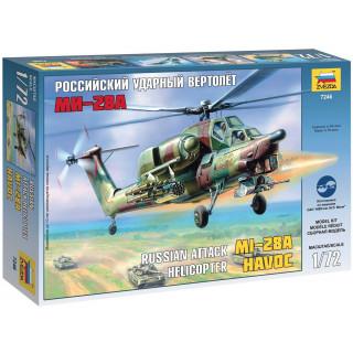 Model Kit vrtulník 7246 - MI-28A HAVOC (1:72)