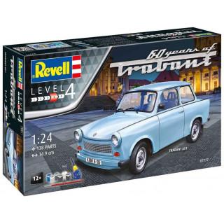 Gift-Set auto 07777 - Trabant 601S 60 Years of Trabant (1:24)