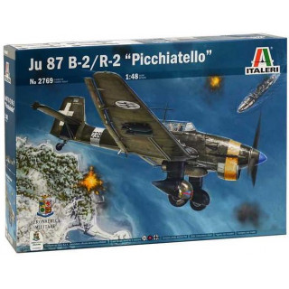 "Model Kit letadlo 2769 - JU 87 B-2/R-2 ""PICCHIATELLO"" (1:48)"