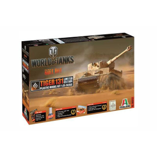 Model Kit World of Tanks Limited Edition 36512 - TIGER 131 (1:35)