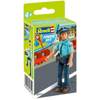 Junior Kit figurka 00751 - Police Man (1:20)