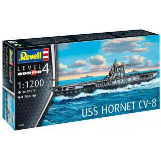 Plastic ModelKit loď 05823 - USS Hornet CV-8 (1:1200)